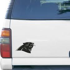 Carolina Panthers Bling Emblem Car Decal