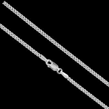 solid sterling silver strong curb chain