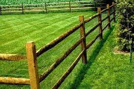 Wood Split Rail Fence Wood Fencing Split Rail Fencing Backyard Fences Rustic Fence Backyard
