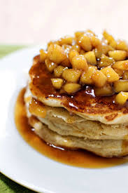 apple cinnamon pancakes sweet
