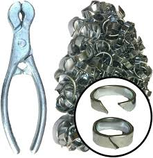 Forrest Netting Clip Plier 100 Clips Fencing Wire Mesh Chain Link Barbed Wire Amazon Co Uk Garden Outdoors