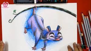 Dạy bé vẽ và tô màu những con vật ngộ nghĩnh - Art For Kids