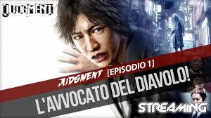Judgment – [Episodio 1] – L'avvocato del diavolo! - YouTube