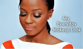 get my everyday makeup look tutorial