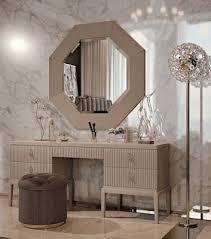 luxury modern dressing table mirror