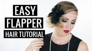 hair tutorial 1920s flapper