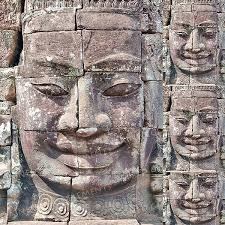 Angkor Wat Ceramic Decal Sculpture Decals Fusible Sculpture Decal Fusible Transfers Decals Enamel Ceramic Transfer Decal For Pendant