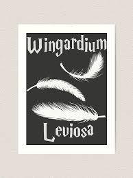 Wingardium Leviosa Art Print By Wichuwow Redbubble