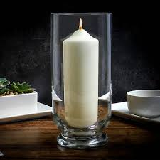 decorative wedding pillar candle holder