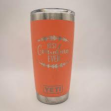 Best Grandma Ever Custom Engraved Yeti Tumbler Personalized Gift Sunny Box