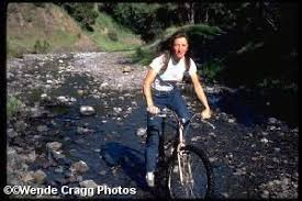 Wende Cragg was the only woman taking part in Marin County clunker rides in  the mid-1970s, riding a 50-lb bike. Her photos are virtually the only  docum…   Crankworx