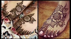 mehndi design full foot