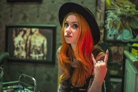 HD wallpaper: long nails, redhead, Megan Massacre, tattoo | Wallpaper Flare