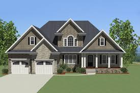 craftsman style house plan 3 beds 2