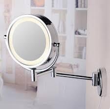 8 inch chrome wall mounted led bathroom
