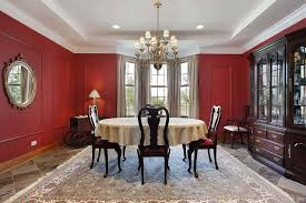 red paint color options for dining rooms