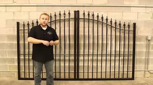 5 Things To Look For When Buying A Wrought Iron Steel Or Aluminum Driveway Gate Youtube