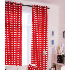 Polka Dot Curtains Pink Black And White Red Purple Yellow