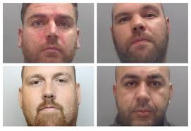 Four men sentenced to 34 years for large scale cocaine supply