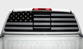 Nissan Titan Subdued Flag Window Vision Graphics Vinyl 2004 2013