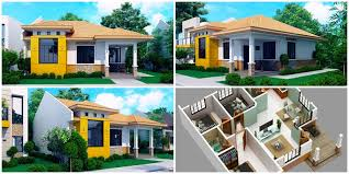 modern bungalow house plan