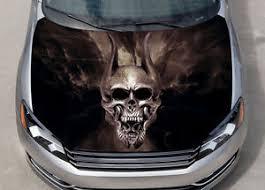 Trivium Skull Car Hood Wrap Color Vinyl Sticker Decal Fit Any Car Ebay