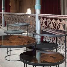 ethnicraft nesting side table set