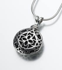 sterling silver filigree round