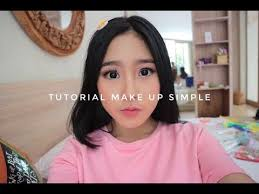 tutorial make up simple you