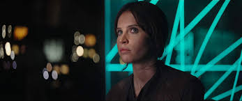Felicity Jones in Star Wars