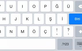 adding a turkish keyboard to your ios