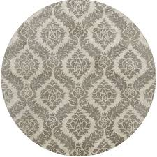 hand tufted averlo grey rug 8 x