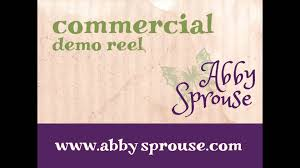 Abby Sprouse Voice Over: Commercial Demo Reel - YouTube