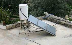 own solar hot water heater