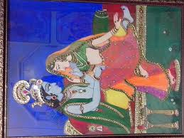 Tanjore Painting by Preeti Agrawal