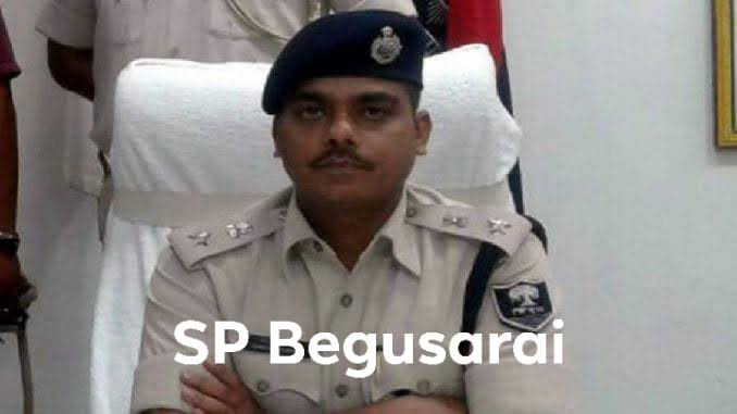 Image result for begusarai sp avkash image""
