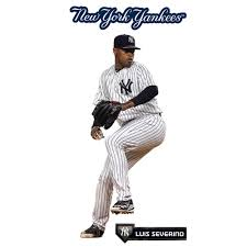 Luis Severino New York Yankees Fathead 3 Pack Life Size Removable Wall Decal Walmart Com Walmart Com