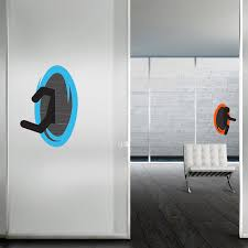 Portal Decal Or Re Positionable Wall Cling Set Ships Free 13 Deals