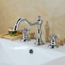 bathroom basin faucet 3 pcs chrome