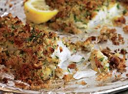 Oven-Baked Fish with Herbed Breadcrumbs ...