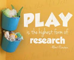 Play Is The Highest Form Of Research Albert Einstein Kids Etsy