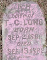 Rachel Adeline Roberts Long (1861-1892) - Find A Grave Memorial