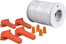 Amazon Com Petsafe Twisted Wire Kit For In Ground Fence 100 Ft Of Pre Twisted Wire For Faster Installation Petsafe Pet Supplies