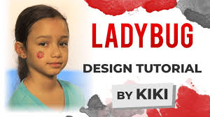 ladybug face painting tutorial you