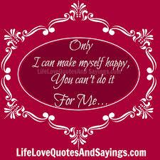 happy my self quotes quotesgram