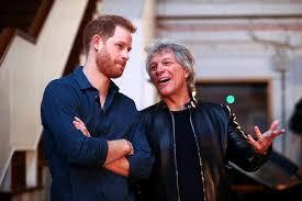 Prince Harry records charity song with Jon Bon Jovi   TribLIVE.com