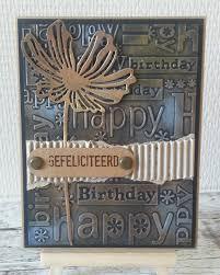 9 vind-ik-leuks, 2 reacties - Dorien's_creaties (@dorienhoekstra) op  Instagram: '#birthdaycard #verjaardag… | Embossed cards, Greeting cards  handmade, Stamped cards