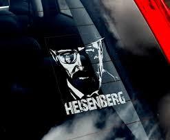 Heisenberg Car Window Sticker Walter White Breaking Bad Decal Sign V05 Ebay