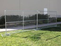 Chain Link Temporary Fencing For Sites Partition Business Directory In Burnaby British Columbia