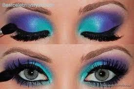 80 s eye makeup step by step